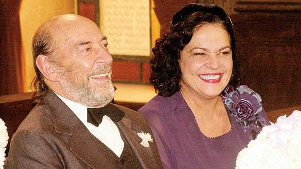 Raul Cortez e Regina Dourado na novela Esperança