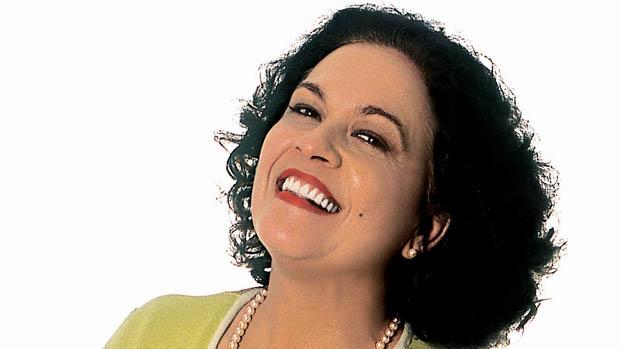 A atriz Regina Dourado, em 2003