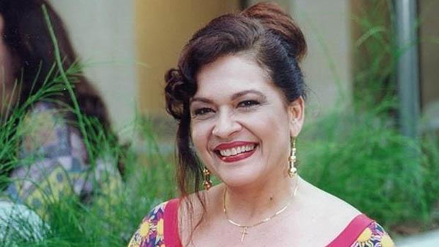 A atriz Regina Dourado