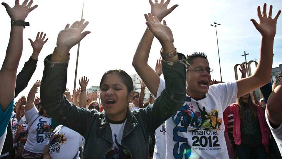 """""""Reinando com Jesus"""" é o tema da Marcha para Jesus 2012"""