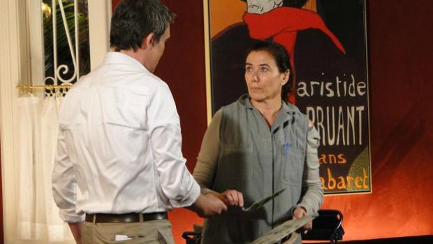 René (Dalton Vigh) e Griselda (Lília Cabral) irão selar o romance em <em>Fina Estampa</em>