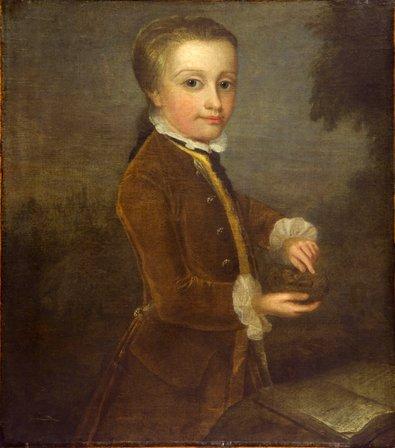 Imagem que por décadas foi atribuida e Mozart. Após restauração foi constatada como falsificada
