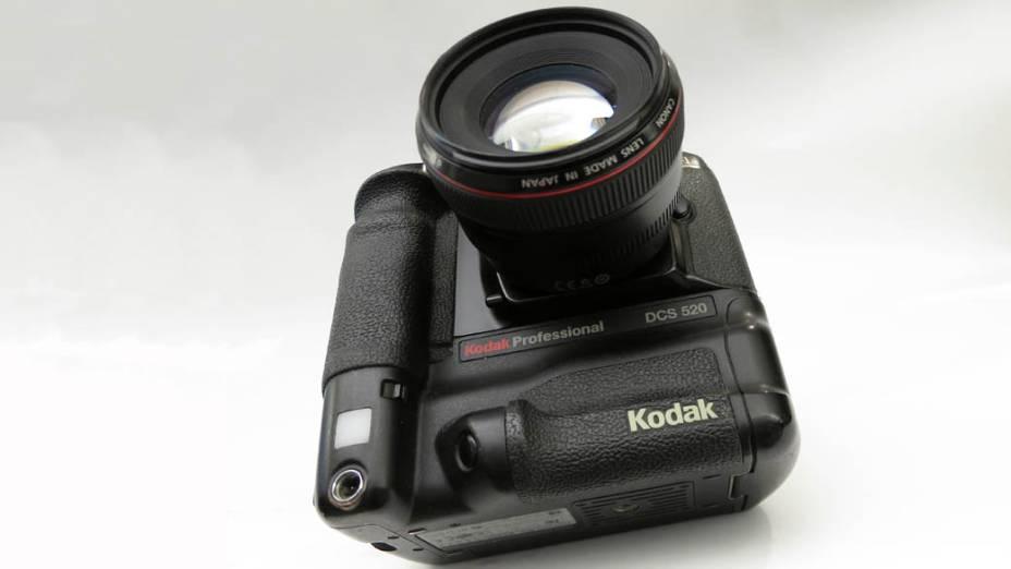 Câmera digital da Kodak, modelo DCS520