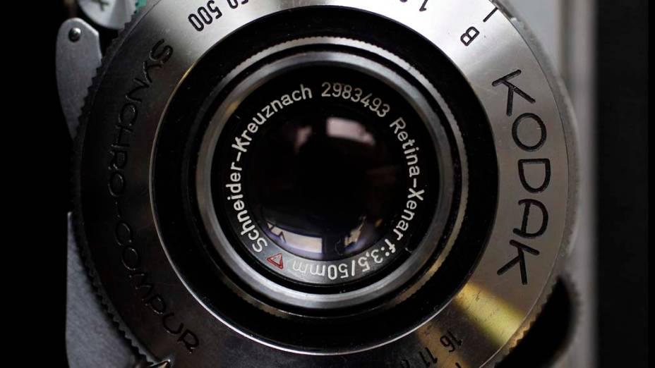 Câmera da Kodak do modelo Kodak Retina