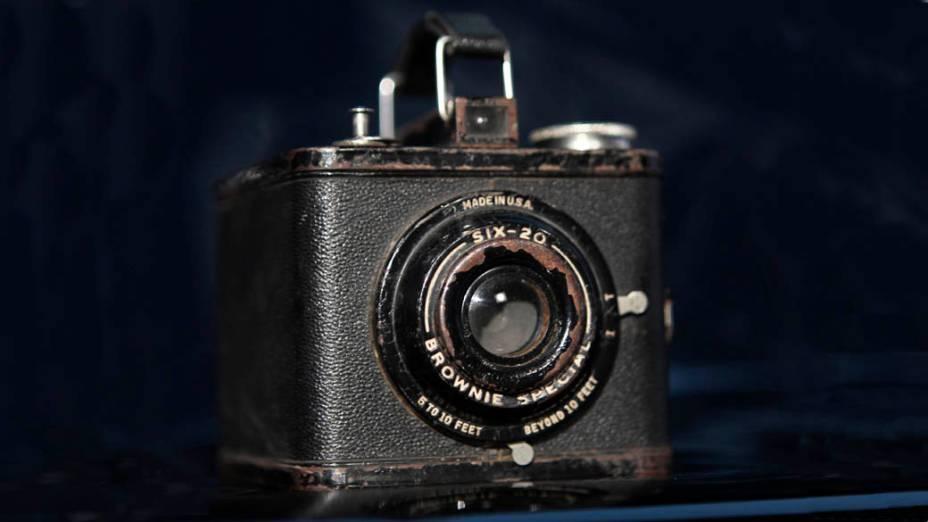 """Câmera da Kodak """"Brownie Special Six-20"""""""