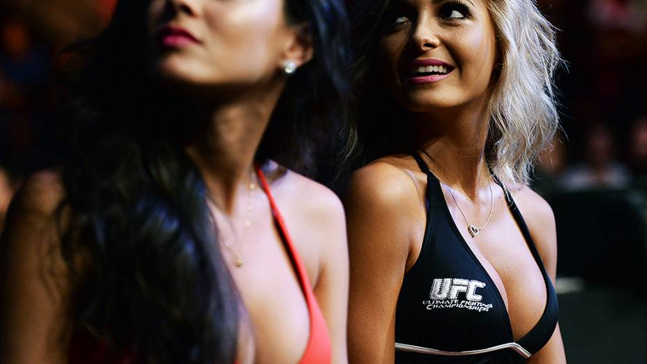 UFC Fight Night em Natal: a ring girl Jheny Andrade
