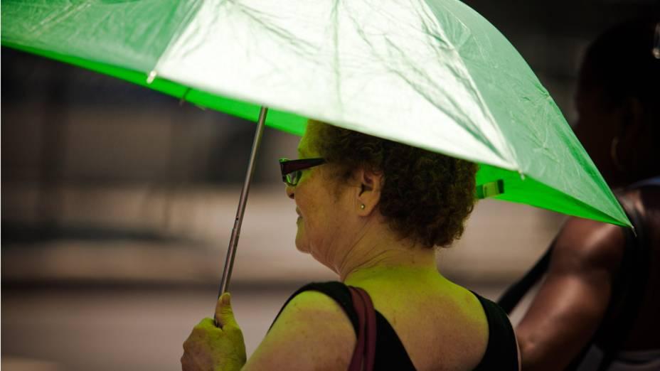 Onda de calor no Rio de Janeiro. Em alguns bairros os termômetros chegaram a registrar 40 graus de temperatura