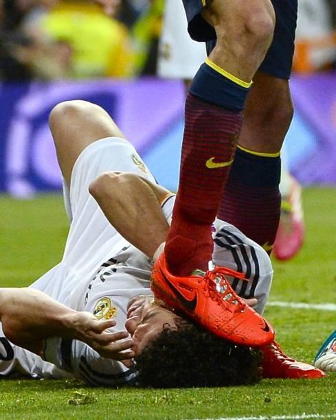 Em campo, a rivalidade entre Real Madrid e Barcelona