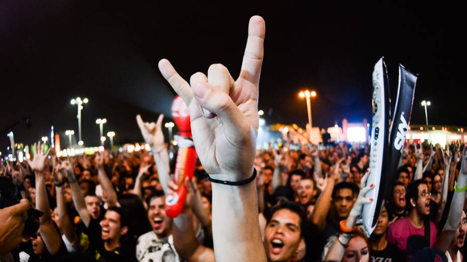 Apresentação do Rob Zombie no quarto dia do Rock in Rio 2013