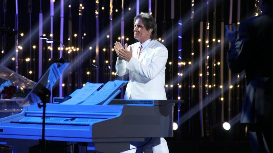 Roberto Carlos grava especial de fim de ano da Globo