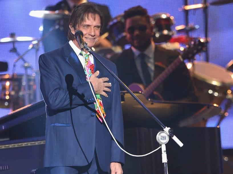 Roberto Carlos na premiação Billboard da Música Latina 2015