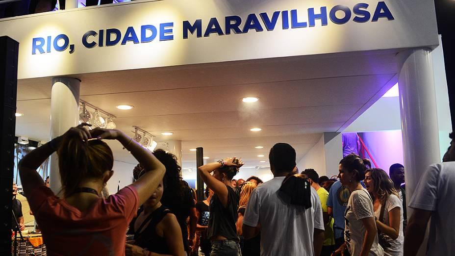 <strong>Movimentação no primeiro dia de Rock in Rio 2013 </strong>