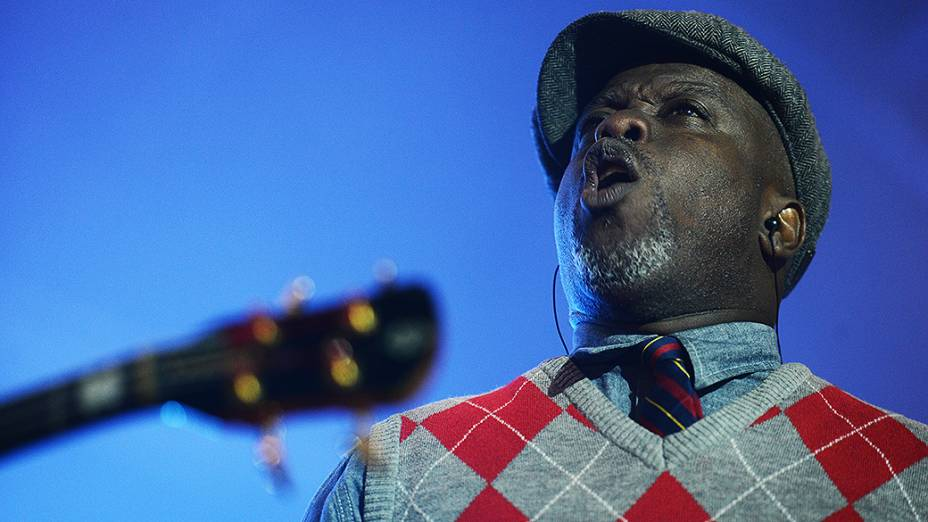 Show da banda Living Colour no palco Sunset, durante o Rock in Rio 2013