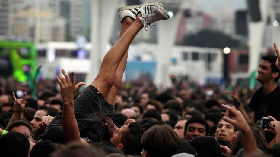 Público durante o quarto dia do Rock in Rio 2013