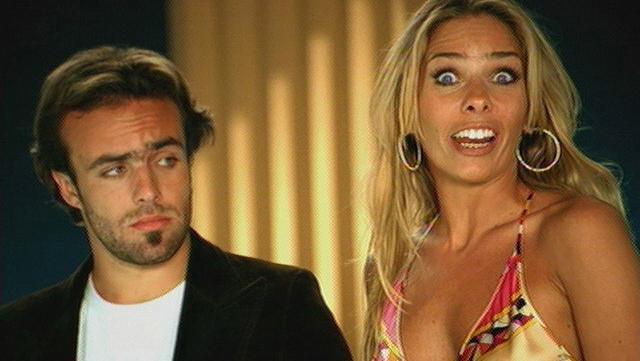 Roger e Adriane Galisteu em propaganda da Chevrolet