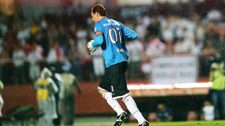 Na partida contra a Ponte Preta, válida pela semifinal da Copa Sul-Americana, Rogério Ceni atingiu a impressionante marca de 1116 jogos com a camisa do São Paulo, igualando recorde de Pelé pelo Santos
