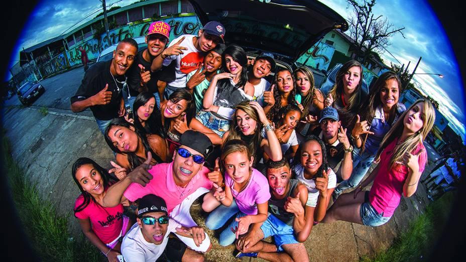 Participantes de rolezinhos em Itaquera<br><br>
