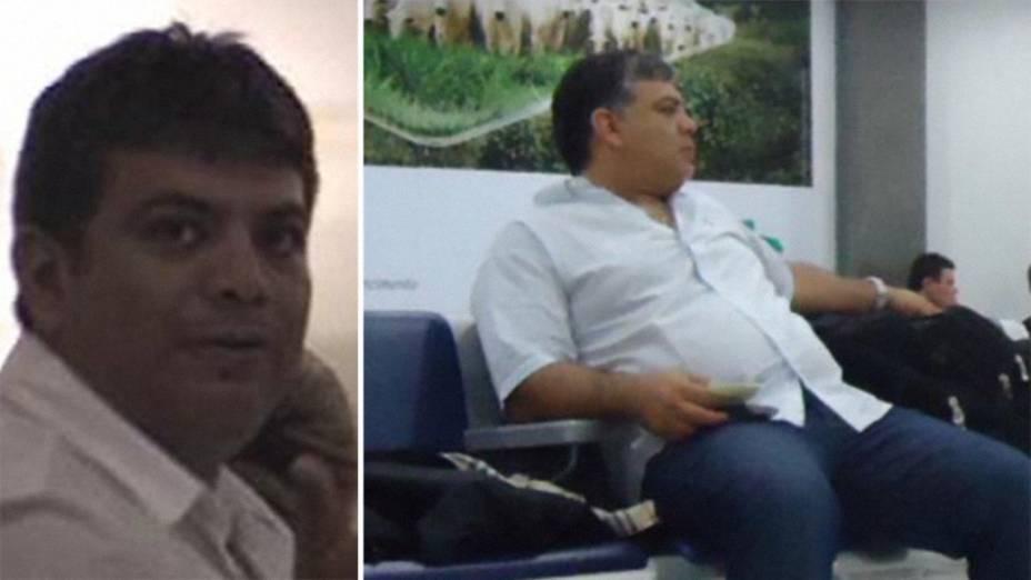 Aparência do megatraficante boliviano Rolin Gonzalo Parada Gutierrez: em 2005 (à esq.) como alvo da PF na Operação Kolibra e em 2013, já na Oversea