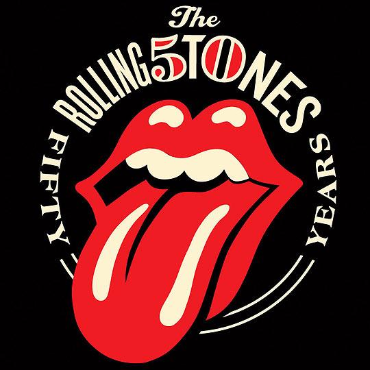 O novo logo dos Rolling Stones, criado por Shepard Fairey