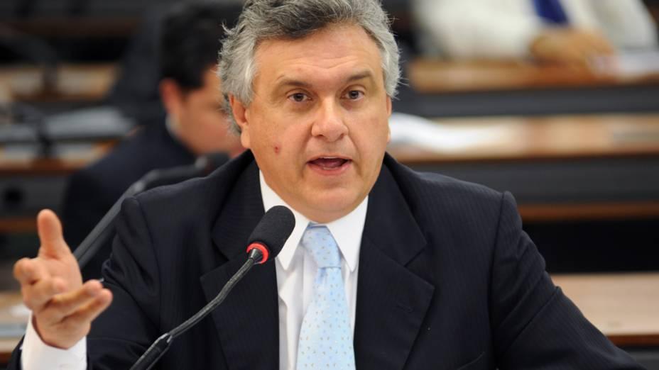 Eleito Ronaldo Caiado (DEM) para o senado de Goiás