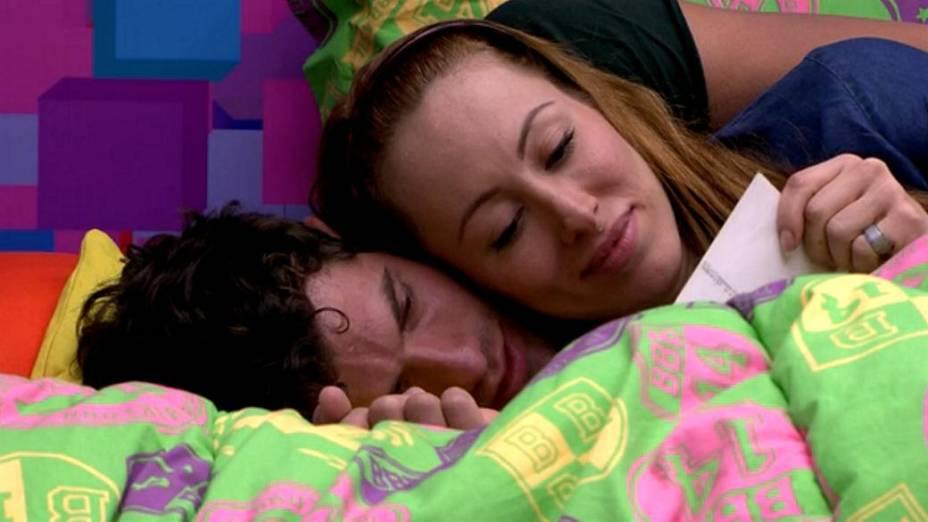 Roni e Aline no BBB14