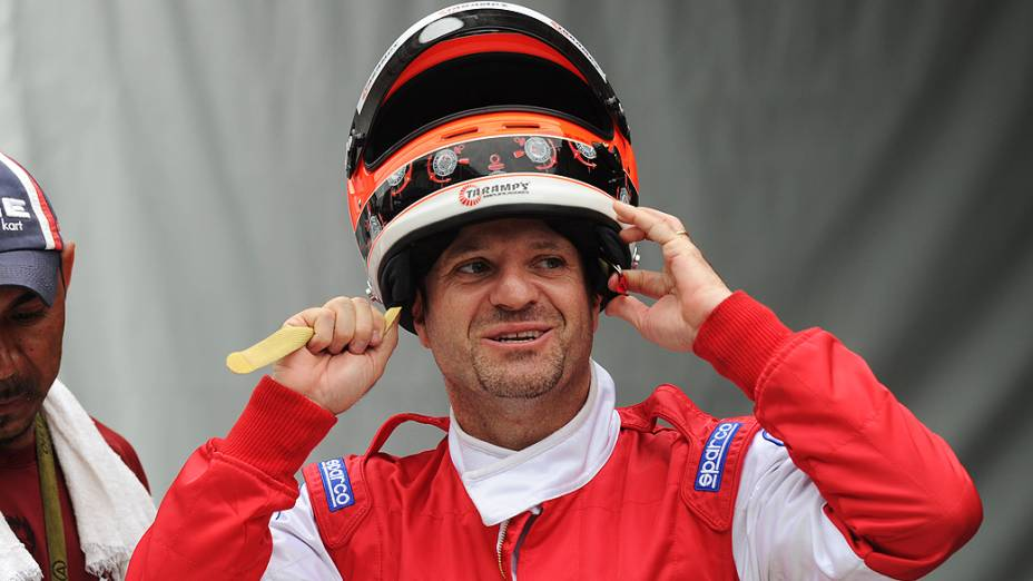 Barrichello se prepara para 500 Milhas de Kart/SC