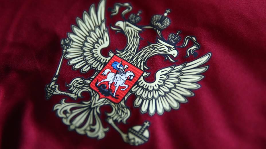 Nova camisa da Rússia para a Copa do Mundo 2014