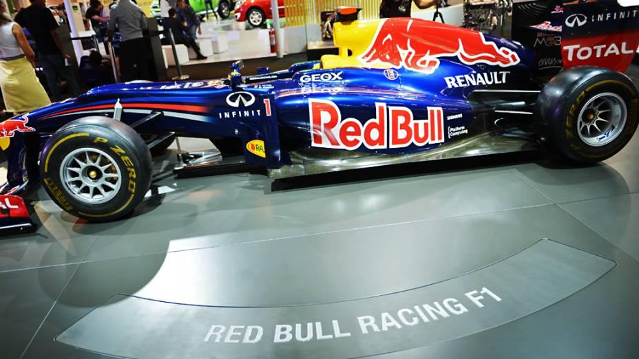 Red Bull RB8 - Monoposto de Fórmula 1 da equipe Red Bull Racing Renault, atual bicampeão mundial da categoria