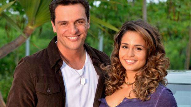 Theo (Rodrigo Lombardi) e Morena (Nanda Costa) em <em>Salve Jorge</em>