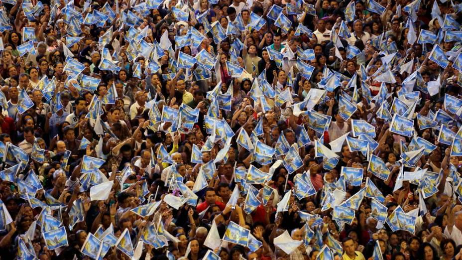 Mais de 150.000 fiéis participaram das festividades em Aparecida