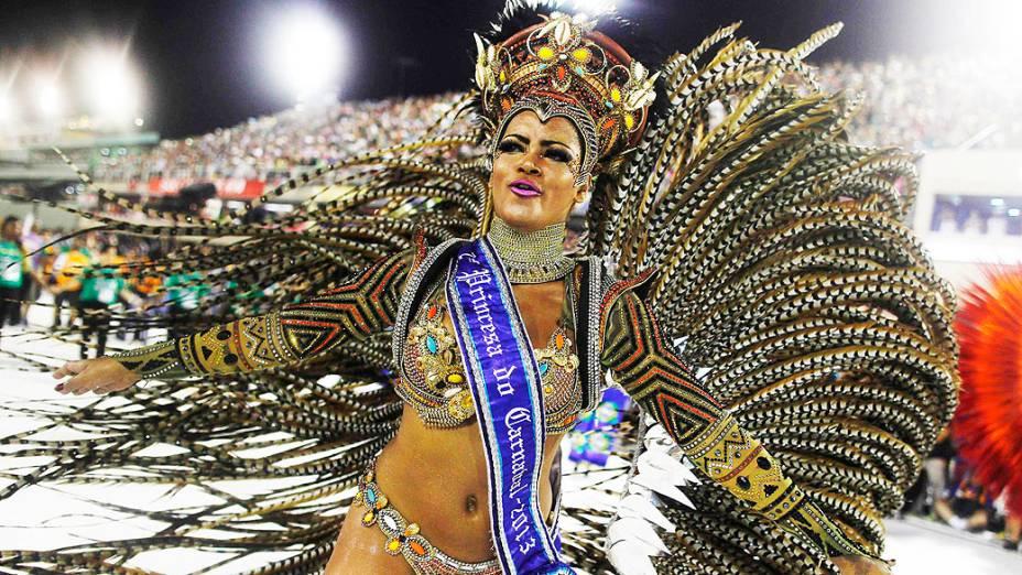 Princesa do Carnaval 2013 da escola São Clemente