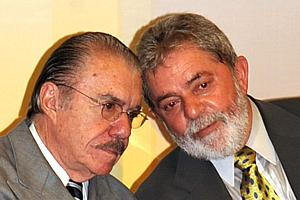 José Sarney e Lula