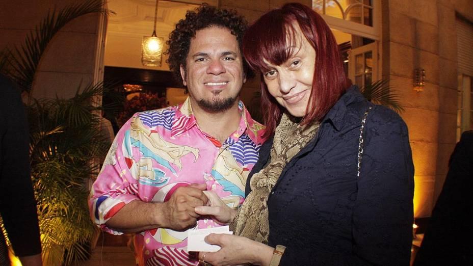 Romero Britto e Scarlet Moon