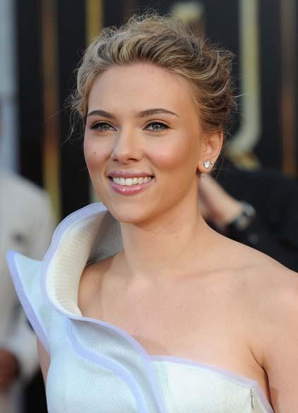 Scarlett Johansson em Hollywood, Califórnia, em abril de 2010
