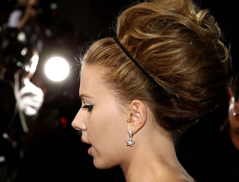 Scarlett Johansson em Beverly Hills, Califórnia, em setembro de 2006