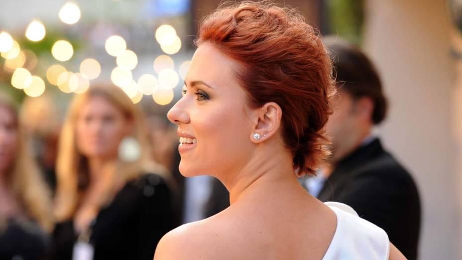 Scarlett Johansson em Culver City, Califórnia, em junho de 2011