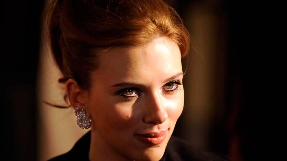 Scarlett Johansson em Madri, Espanha, em dezembro de 2008