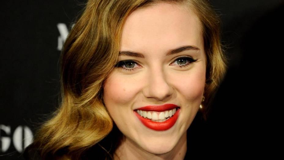 Scarlett Johansson em Madri, Espanha, em novembro de 2009