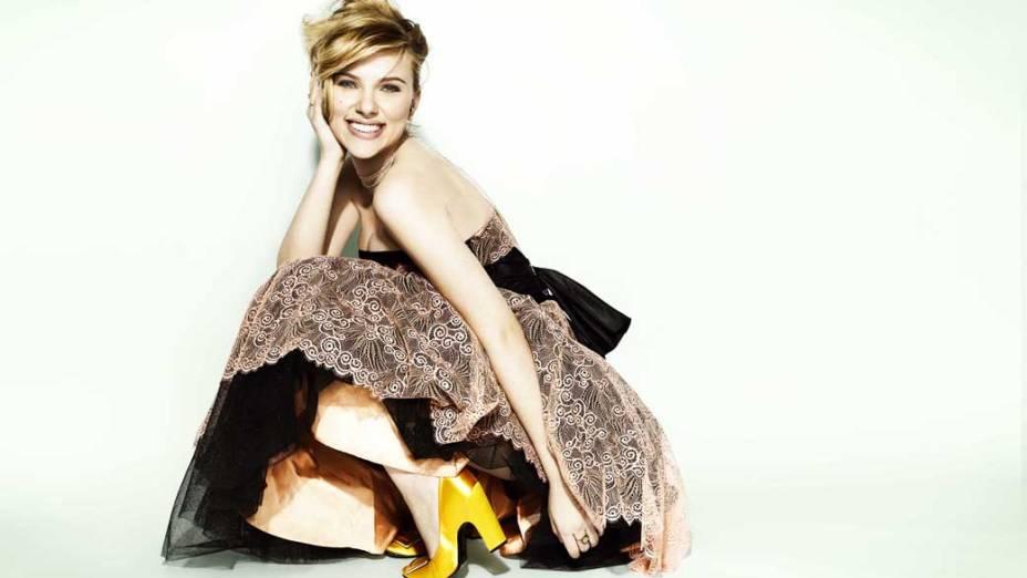 Scarlett Johansson em propaganda publicitária em 2006