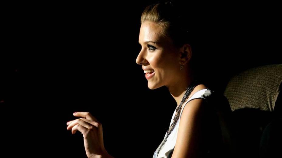 Scarlett Johansson em Nova York em setembro de 2006