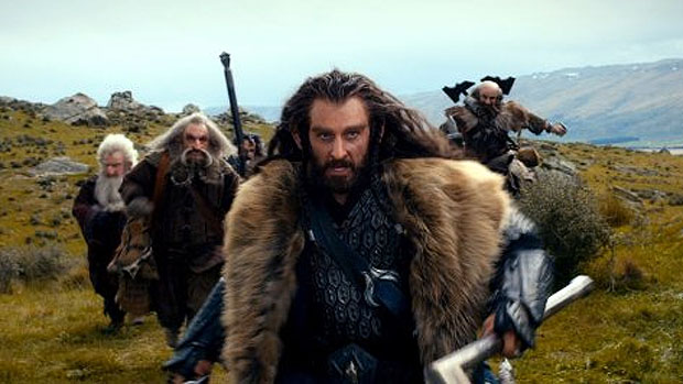 Cena do filme O Hobbit do diretor Peter Jackson