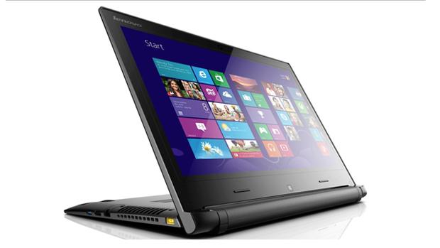 Notebook Flex 14D, da Lenovo, permite girar tela e manter teclado como apoio para exibição de vídeos