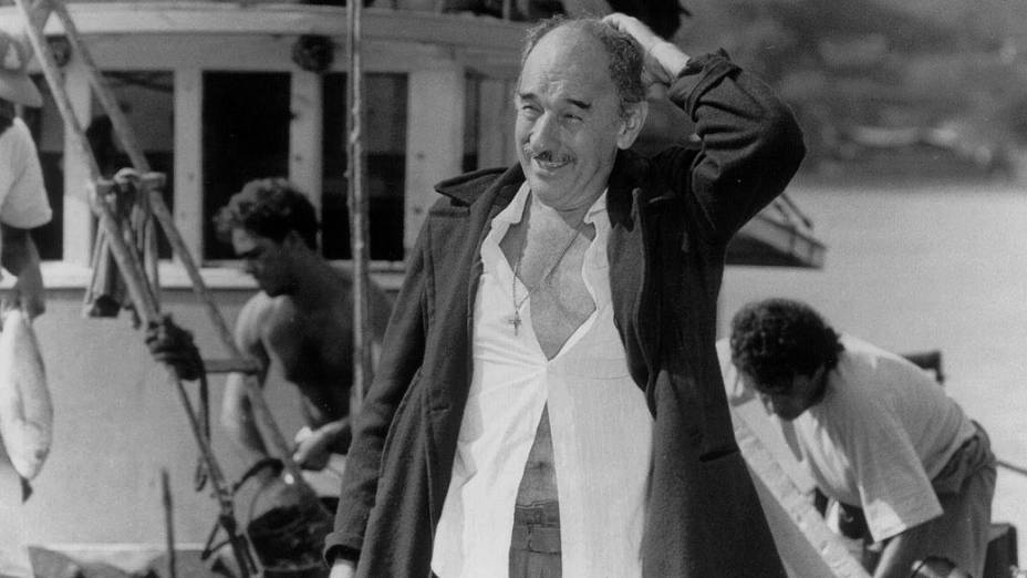 """Sebastião Vasconcelos na novela """"Mulheres de Areia"""", da Rede Globo"""