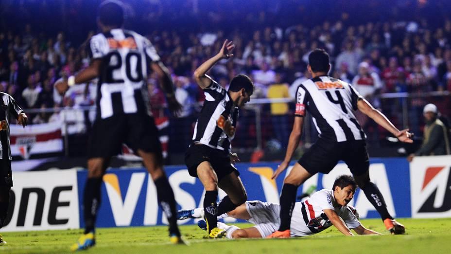 São Paulo vence Atletico-MG no Morumbi pela Copa da Libertadores