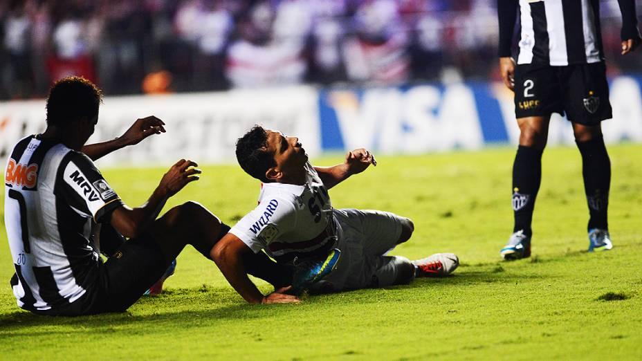 São Paulo vence o Atlético Mineiro por 2 a 0 e se classifica para a próxima fase da Copa Libertadores