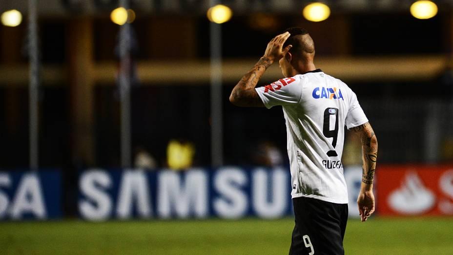 Guerrero durante partida entre Corinthians e Tijuana no Pacaembu