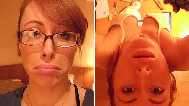 Selfie de Aline do BBB14i
