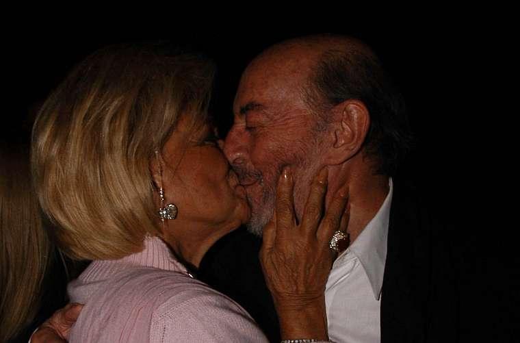 Raul Cortez, no coquetel após a estreia da peça teatral Na Mira do Gordo, de Jô Soares, no restaurante DBistrot, em 2003.