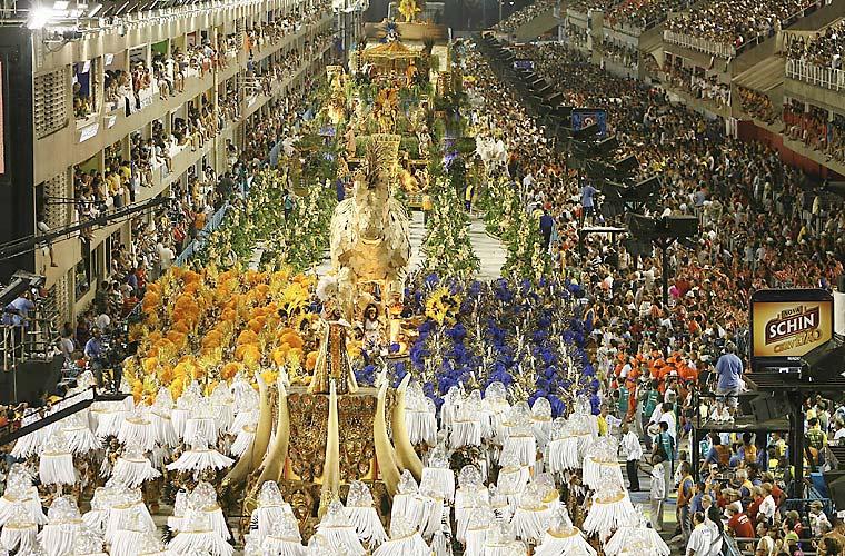 O desfile da Unidos da Tijuca.