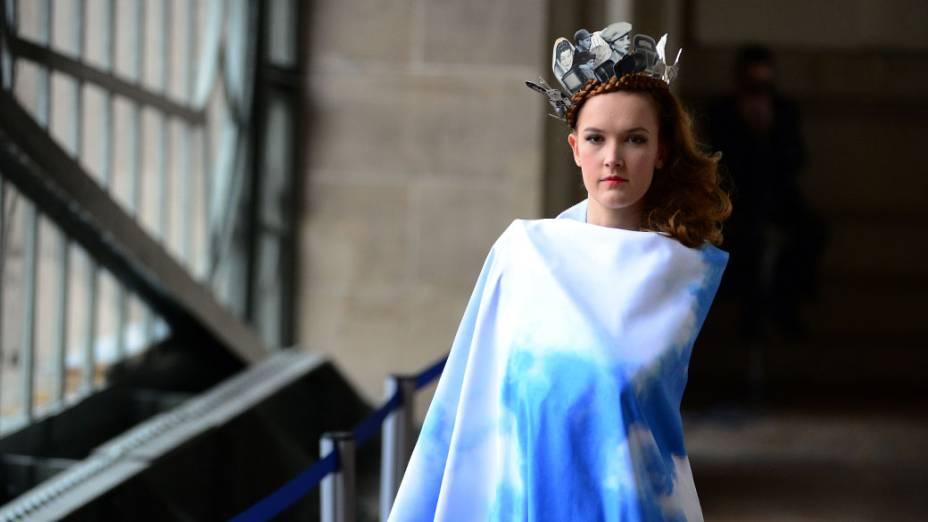 Desfile da grife Impasse de la Defense na Semana de Moda de Paris